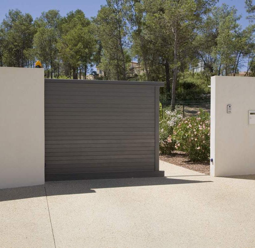 achat portail aluminium